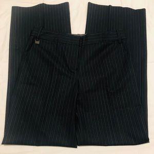 🔥SALE BCBG Maxazria Navy Black Pin Stripped pants